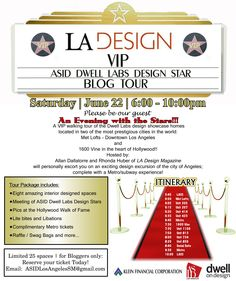 ATTENTION DESIGN BLOGGERS: You're not going to want to miss this event!  #dod2013 #dwelllabs #asid #1600vine #metlofts