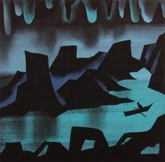 Mary Blair concept art for the Disney feature 'Peter Pan' (1953)