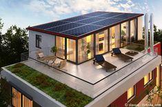 So produziert ihr Strom mit eurem Haus