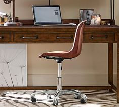 Mitchell Swivel Desk Chair #potterybarn