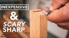 Scary Sharp - The Cheapest Way to Get a Perfect Razor Sharp Edge Woodworking Joints, Woodworking Skills, Woodworking Projects, Chisel Sharpening, Sharpening Tools, Router Plate, Router Setting, Fret Saw, Tips