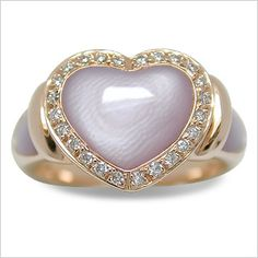 Damita a Mother of Pearl Ring Pearl Set, Pearl Ring, Pink And Gold, Rose Gold, Pink Palette, Love Ring, Ring Earrings, Pink Color, Round Diamonds