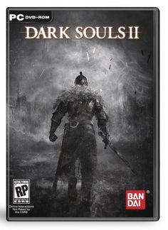 Dark Souls II Cover art // Dúvida que esteja mais fácil #tecnologistas