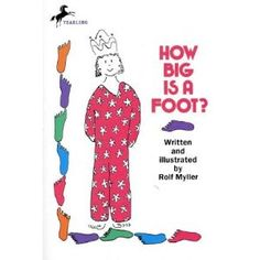 """I love this book for teaching about how important it is to have a standard of measurement. This amusing story tells of a king who wants a new bed for the queen.and how a mix-up of how big of a measurement a """"foot"""" is results in an amusing problem! Math Classroom, Kindergarten Math, Teaching Math, Classroom Ideas, Teaching Ideas, Future Classroom, Classroom Resources, Math Resources, Teach Preschool"""