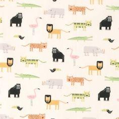 Bomuld natur m digitale vilde dyr