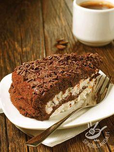 Torta al cioccolato e mascarpone Just Cakes, Cakes And More, Delicious Cake Recipes, Sweet Recipes, Pie Dessert, Dessert Recipes, Chocolate Recipes, Chocolate Cake, Cooking Dishes