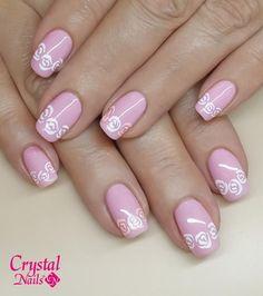 Cute Pink Nails, Nail Art Designs, Pedicures, Fingernail Designs, Ongles, Nail Designs