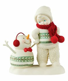 Look what I found on #zulily! Christmas Sweaters Figurine #zulilyfinds