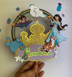 Aladdin Birthday Party, Aladdin Party, Mario Birthday Party, Princess Jasmine Cake, Princess Party, Princess Birthday, Aladdin Cake, Princess Cake Toppers, Jojo Siwa Birthday
