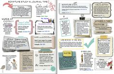 """Scripture Study Tips & Tricks the """"girly"""" version"""
