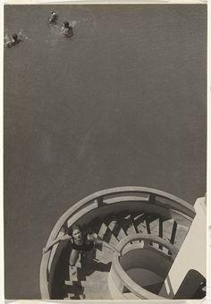 "bizarredisco:  "" Stefano Bricarelli, Water - Stair composition, c.1930  """