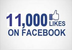 I will add 11000  Facebook Fan Page Likes To Improve your Social media Signals and SEO for $5