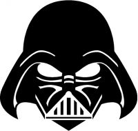 Darth Vader Decal / Sticker 04