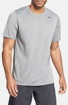 Carbon heather XL Nike 'Legends' Dri-FIT T-Shirt at Nordstrom.com. Dri-FIT technology wicks away moisture, helping keep you dry and cool in a lightweight, short-sleeve crewneck with a reflective Swoosh logo.