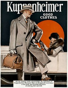 Djavan-a-don — Joseph Leyendecker Vintage Advertisements, Vintage Ads, 1940s Mens Fashion, 1940's Fashion, Jc Leyendecker, American Illustration, Ad Art, Roaring Twenties, Magazine Art
