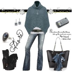 """""""Teal & Black Beauty"""" by ggulan on Polyvore"""