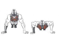 Tom hardys bane workout