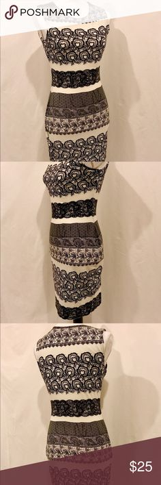 Kardashian Kollection Lace Design Bodycon Dress XS Worn once to an event. Hung in the closet ever since. It hugs the curves nicely, as most body con dresses do. Such a hot yet classy number! XS. From a clean, smoke and pet free home. Kardashian Kollection Dresses Midi