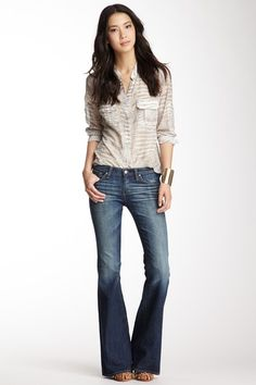 Flare Whiskered Jean