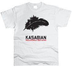 Футболки Kasabian