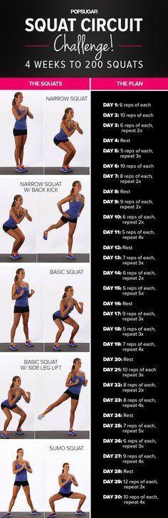 Squat Challenge I'm trying this tonight