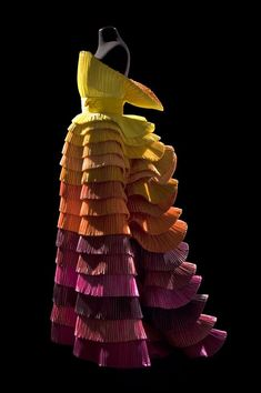 ROBERTO CAPUCCI, Sculpture Dress, 1992