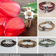 Een kleine greep uit de 'flower' collectie gemaakt voor de site www.worldloveflowers.com. Meer op www.kurkenstijl.nl