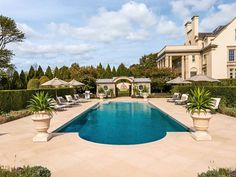 POOL HOUSE – Start collecting design ideas for the future pool house. This one can work. Pool Design Ideas. Elegant