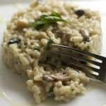 Wild About Mushrooms- A Rich Risotto
