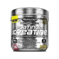 MuscleTech Platinum 100% Creatine, Unflavoured 0.88 Lb
