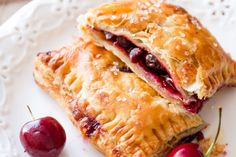 Hand pies: stupid easy to make, and you don't have to share. Get the recipe from Delish.   - Delish.com