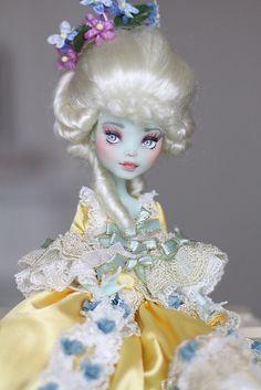 Marie Antoinette Monster High custom