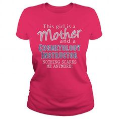 Awesome Tee For Cosmetology Instructor T Shirts, Hoodie. Shopping Online Now ==► https://www.sunfrog.com/LifeStyle/Awesome-Tee-For-Cosmetology-Instructor-102340850-Hot-Pink-Ladies.html?41382