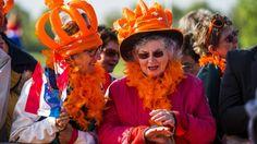 27 april...Koningsdag begonnen in Nederland !