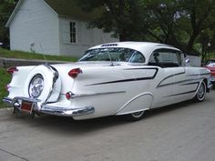 1956 Oldsmobile Starfire Custom with Continental Kit