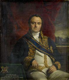 Portrait of Léonard Pierre Joseph, Viscount du Bus de Gisignies, Commissioner-General. 1836