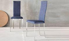 Sedie Schienale Alto Ecopelle : Foxhunter set da sedie in ecopelle color panna con schienale