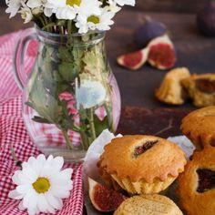 Muffins aux figues fraîches et au miel