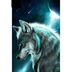 Lonely wolf 5D DIY Paint By Diamond Kit