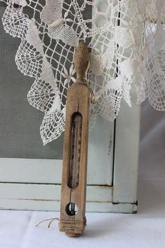 Shabby Thermometer/Wannenthermometer Vintage von TheCottage auf DaWanda.com
