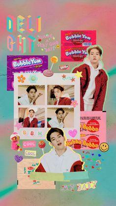 Nct, Exo Ot12, Chanbaek, Kpop Exo, Chanyeol, Exo Kokobop, Kyungsoo, Exo Stickers, Baekhyun Wallpaper