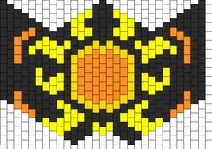 Sun Shine Sub Zero Mask bead pattern