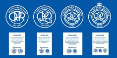 New Logo for Queens Park Rangers by Dan Bowyer and Daniel Norris