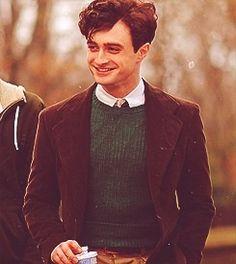 "Daniel Radcliffe as Allen Ginsberg. ""Kill Your Darlings. Saga Harry Potter, Harry James Potter, Harry Potter Pictures, Harry Potter Characters, Tyler Posey, Daniel Radcliffe Harry Potter, Kill Your Darlings, Allen Ginsberg, Harry Potter Aesthetic"