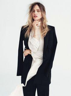 Vogue UK July 2014Photographer: Daniel JacksonStyling: Kate PhelanModel: Sasha Pivovarova