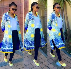 The female singer of the South African music group Mafikizolo, Nhlanhla Nciza has a style game that is seriously on point. Check out our favourite looks African Attire, African Wear, African Fashion Dresses, African Women, African Style, Stylish Outfits, Cute Outfits, Fashion Outfits, African Goddess