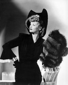 Lucille Ball.  I often think Lucy was overlooked for her stunning beauty in favor of her comedic side. 1941