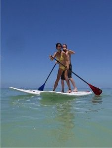 Good Time Charters Stand Up Paddleboard rentals  and tours Ft. Myers Beach Florida.