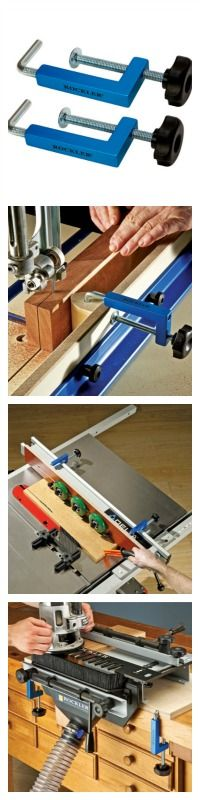 Universal Fence Clamps - Rockler.com