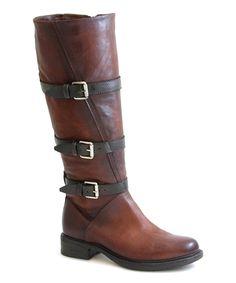 Another great find on #zulily! Brandy Charmaine Leather Boot by Miz Mooz #zulilyfinds